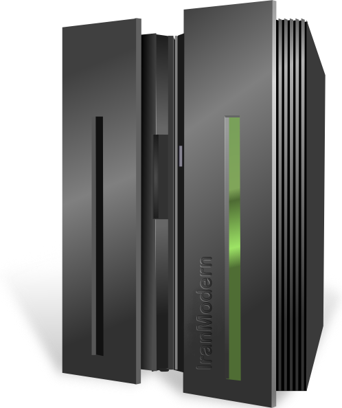 Mainframe Server Clip Art Hight