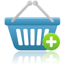 Shopping Basket Add Icon 2